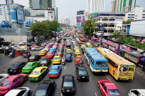 路線バス(バンコクの交通)
