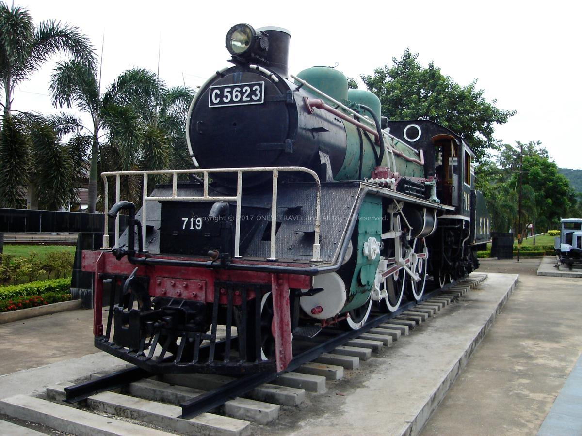 旧泰麺鉄道(カンチャナブリー)